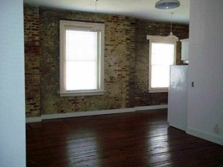 Large loft style apt. With accent Brick wall.